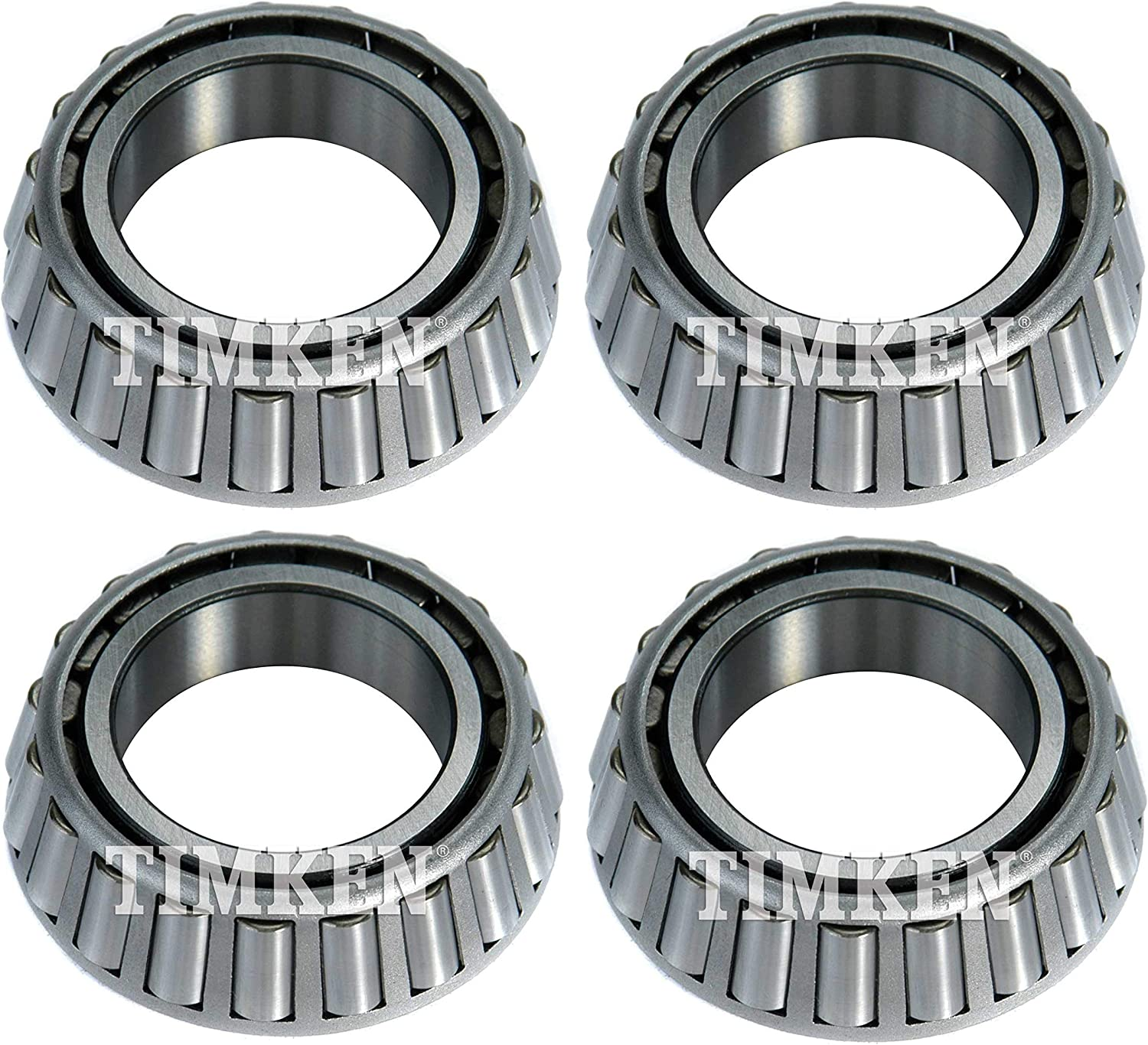 Front Inner /& Outer Wheel Bearing Kit Timken For Chevy GMC C3500 RWD 15000 GVWR