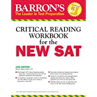 Barron's New SAT Critical Reading Workbook, 15th Edition