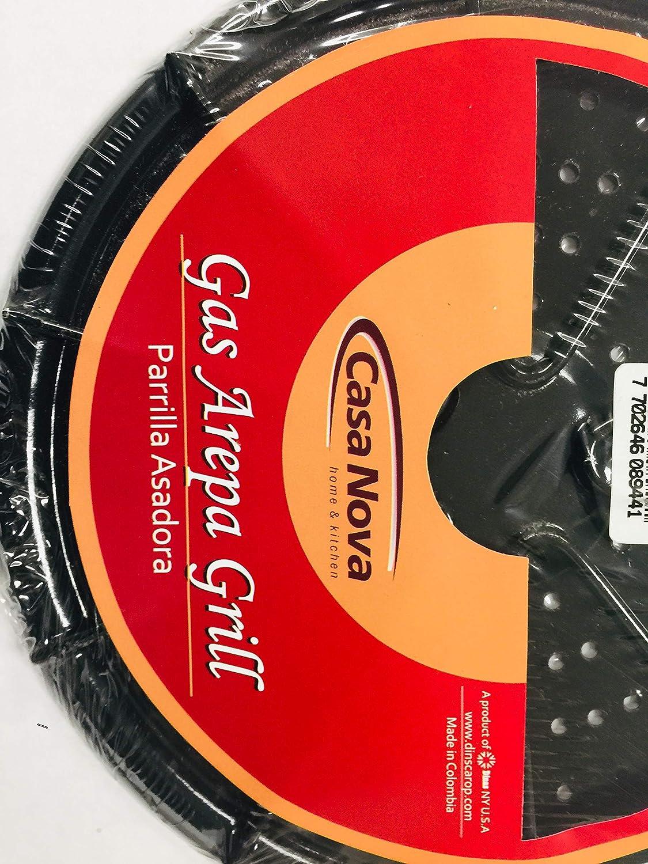Amazon.com: GAS AREPA GRILL/PARRILLA PARA AREPAS (2PACK ...