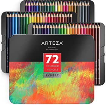 ARTEZA 72 Colored Pencils