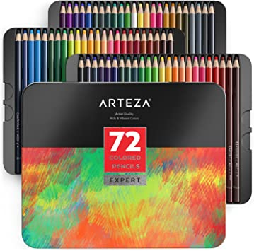 8 pcs 4 in 1 rainbow colored pencil drawing color pencils for drawing pens PF