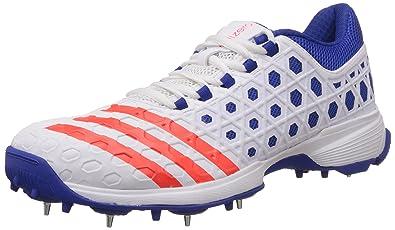 adidas uomini sl22 bianco, rosso e blu cricket 12 uk: comprare scarpe