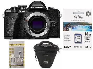 Olympus OM-D E-M10 III Carcasa Negro + Foto Funda + 16 GB ...
