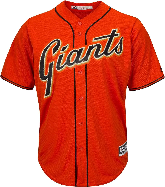 Buster Posey San Francisco Giants Infant Orange Alternate Cool Base Replica Jersey