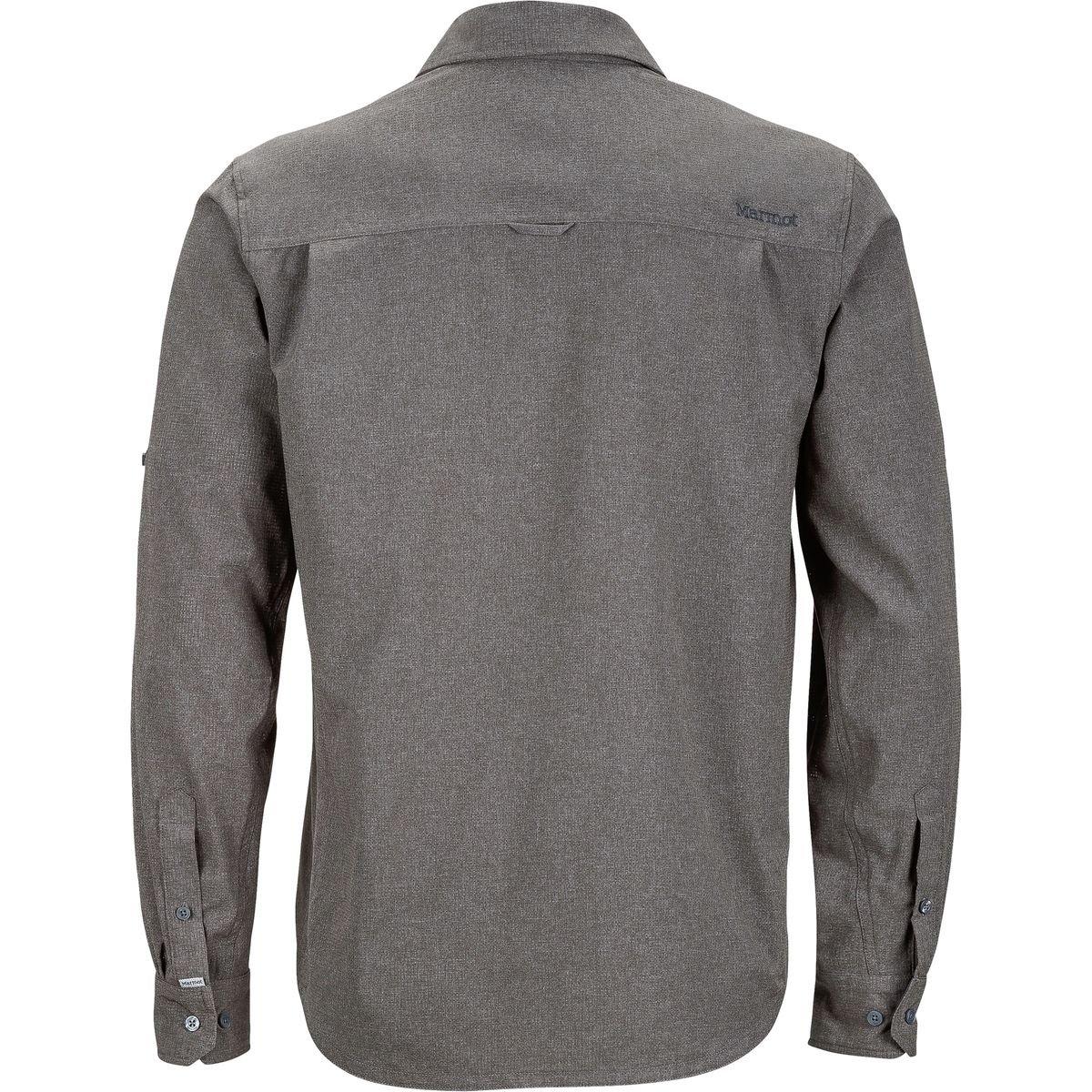 Marmot Windshear Men LS Shirt Men Windshear Cinder 2018 Langarmshirt fba052
