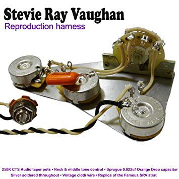 stevie ray vaughan reproduction wiring kit amazon co uk musical stevie ray vaughan reproduction wiring kit