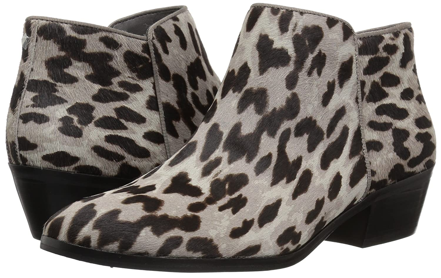 Sam Edelman Women's Petty US|Grey Ankle Boot B07BQYZ38Y 8.5 W US|Grey Petty Leopard 8119d3