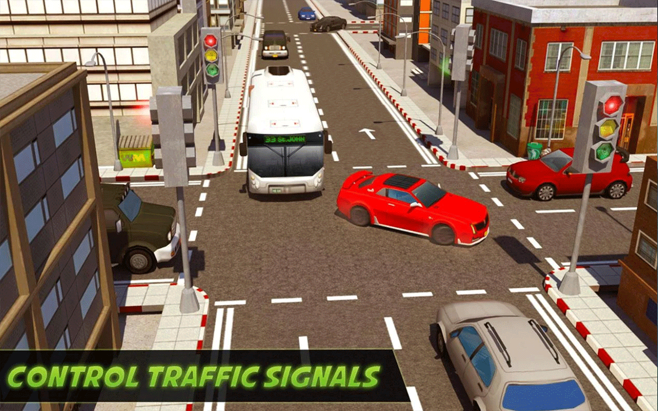 City Traffic Control Simulator 2018 ...