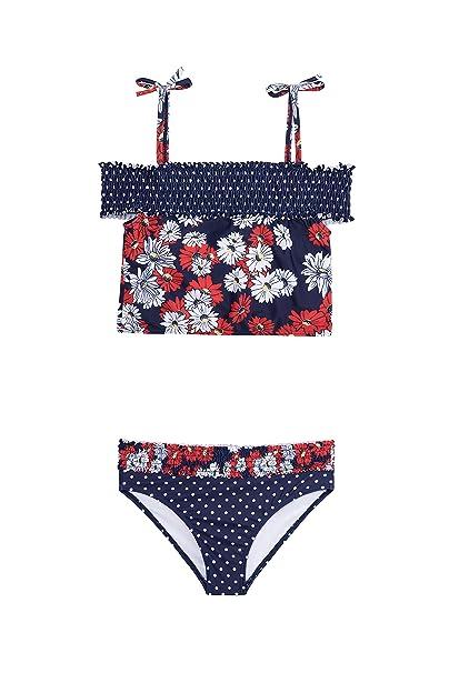 Amazon.com: Jantzen traje de baño de dos piezas para niñas ...