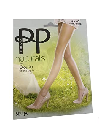 f179d92dd01 Pretty Polly Naturals Sideria Tights 5 Denier Barely There Sandal Toe   Amazon.co.uk  Clothing