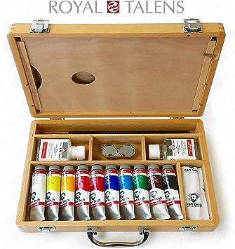 Royal Talens - Van Gogh Acrílico Arte Instalado en Premium Caja de ...