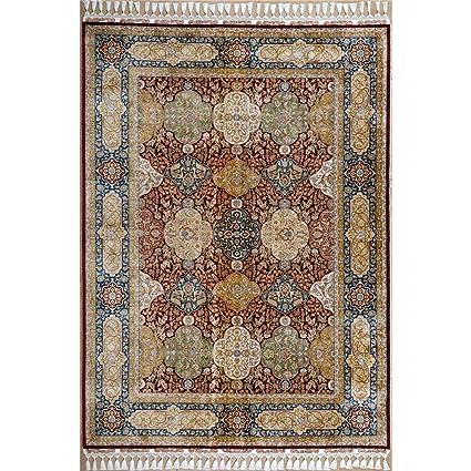 Turkish Silk Carpet Carpet Vidalondon