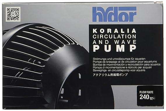 Hydor Koralia Nano Aquarium Circulation Pump, 240, 425, 565 GPH