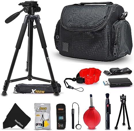 Deluxe Kit de accesorios de la cámara para Canon, Nikon, Sony ...