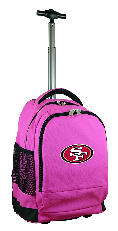 (San Francisco 49ers) - NFL Expedition Wheeled Backpack, 48cm , Pink   B01MG8H0PB