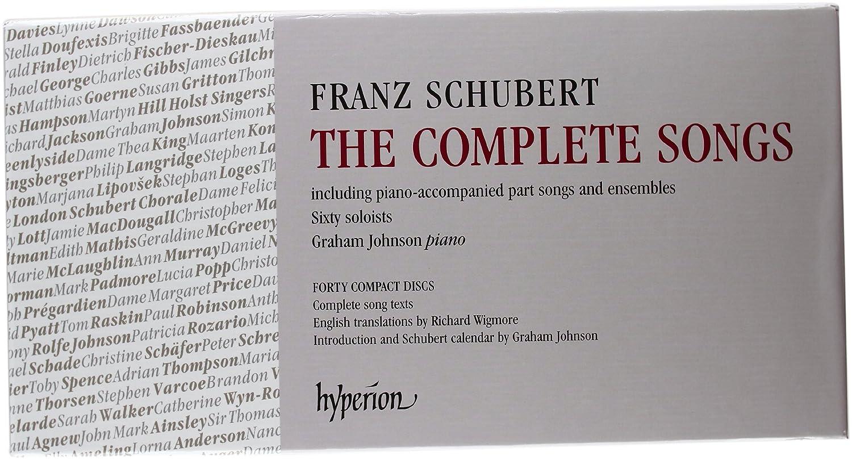 Franz Schubert The Complete Songs