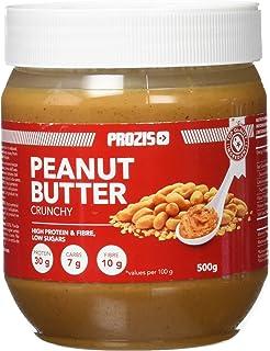 Prozis Peanut Butter 500g - Deliciosa y de Textura Cremosa - Fuente Natural de Proteína -
