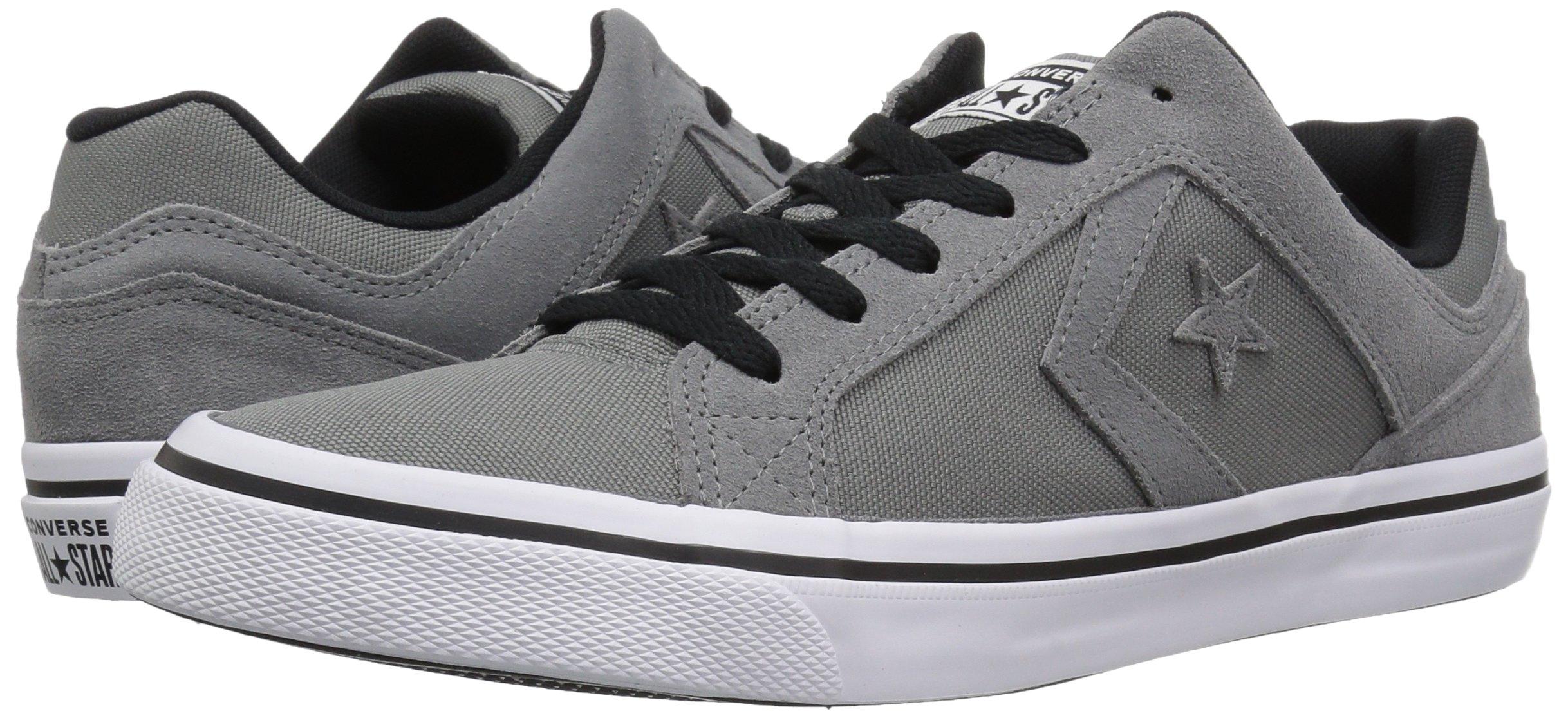 Converse EL Distrito Canvas Low Top Sneaker, Mason/White/Black, 12 M US by Converse (Image #5)