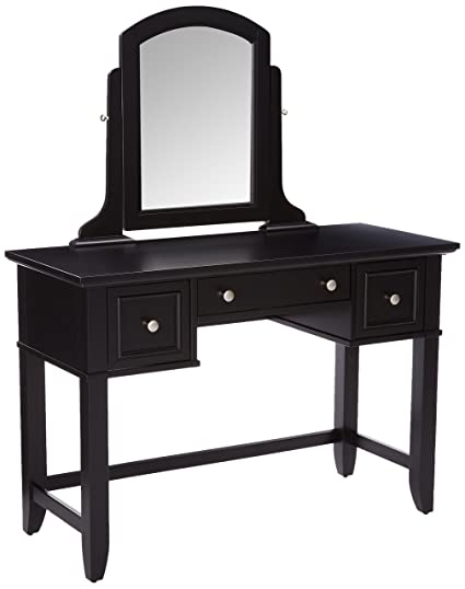 Home Styles 5531 70 Bedford Vanity Table, Black Finish