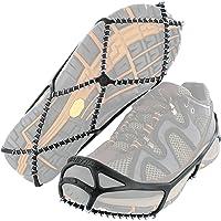 Yaktrax Walk Ice & Snow Grips voor wandelschoenen, elastische rubberen band & 1,2 mm stalen spoelen, biedt tractie in…