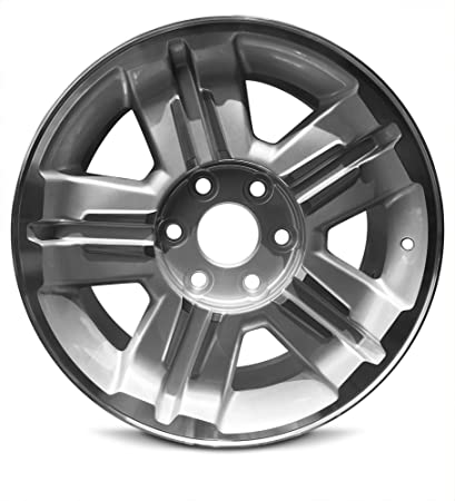 amazon new 18 x 8 inch 6 lug gm avalanche 08 13 silverado 2005 Silverado 1500 Lifted new 18 x 8 inch 6 lug gm avalanche 08 13 silverado 1500