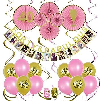 Amazoncom 40th Birthday Decorations 40 Birthday Party