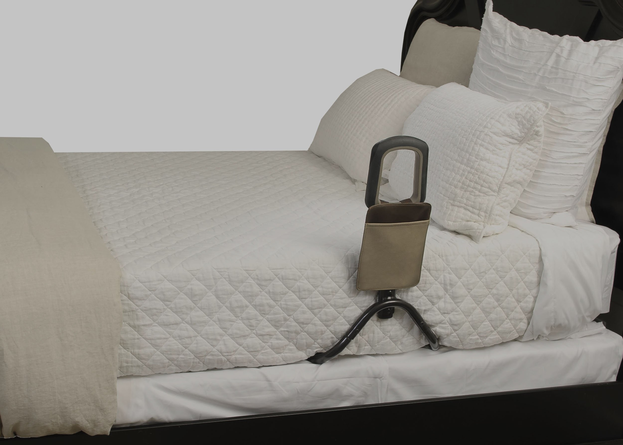 Signature Life Confidence Bed Handle - Elderly Safety Bed Rail & Mobility Support Cane + Organizer Pouch by Signature Life (Image #4)