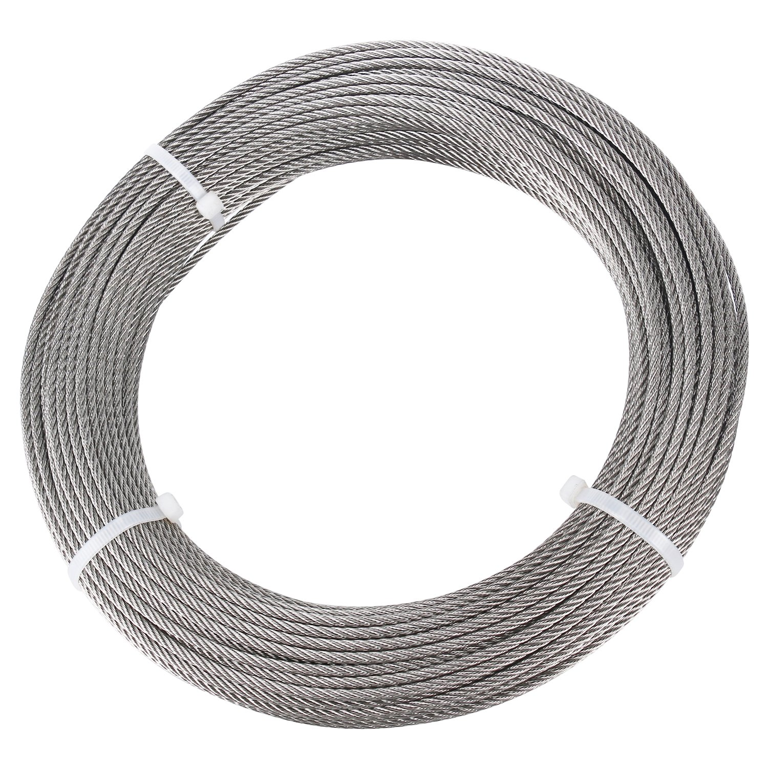 DasMarine Stainless Aircraft Steel Wire Rope Cable for Railing,Decking, DIY Balustrade, 1/8Inch,7x7,164Feet by DasMarine (Image #9)