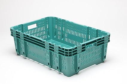 Plástico Caja fev190 Caja de verduras fruta (apilables Caja multiusos caja respetuoso con el medio