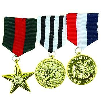 Amazon.com: Medallas de oficial militar de esqueleto ...