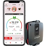 RV/Dog Safety Temperature & Humidity Sensor | 4G Verizon Cellular | Wireless Remote Pet Temp Monitor with 24/7 Email/SMS Aler