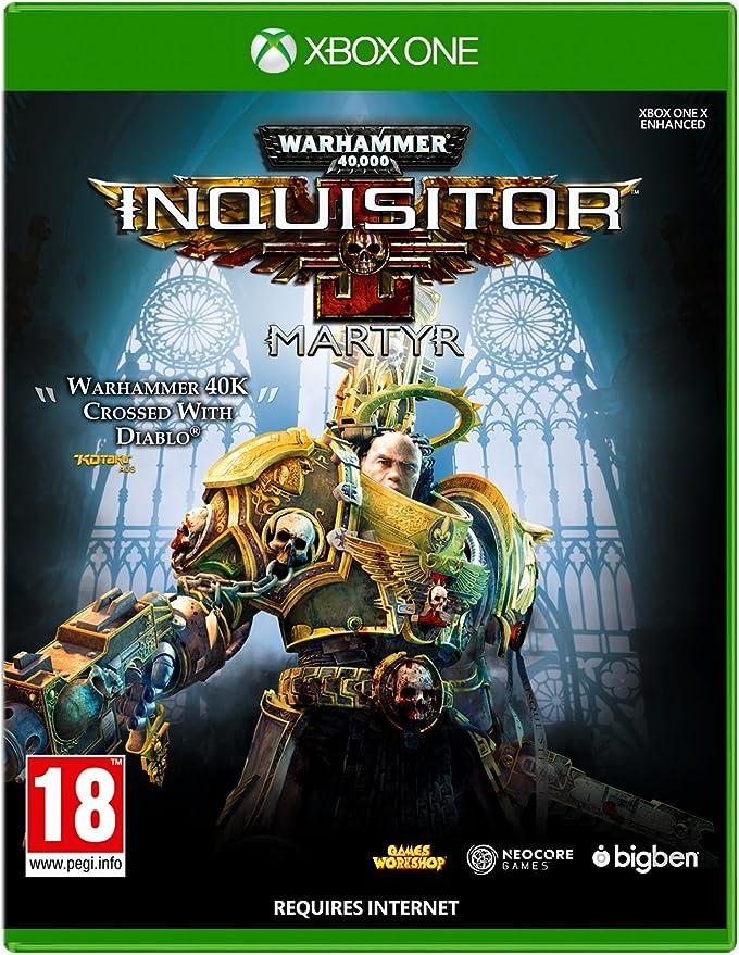 Warhammer 40K Inquisitor Martyr - Xbox One [Importación inglesa]: Amazon.es: Videojuegos
