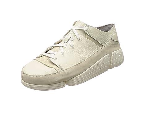 Clarks Herren Weiß Trigenic Evo Sneakers UK 11: