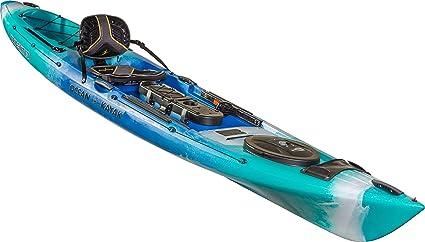 Amazon com : Ocean Kayak Trident 13 Angler Kayak (Ahi, 13