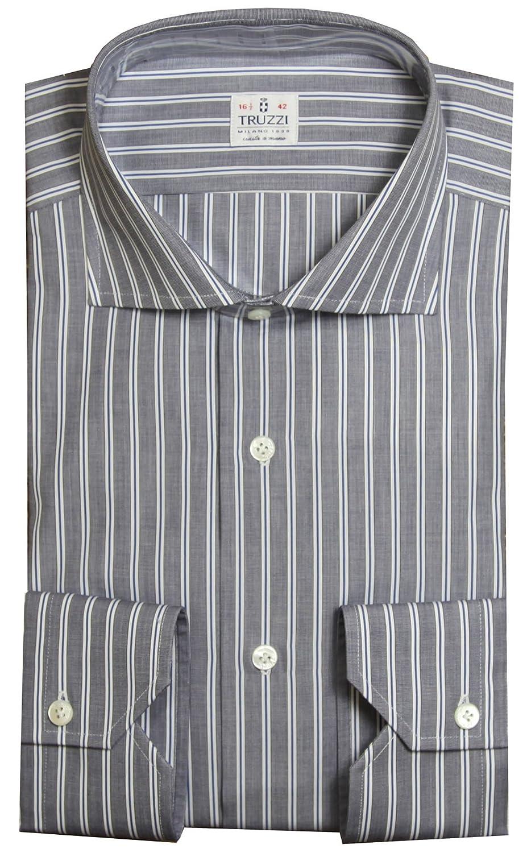 Abbigliamento Uomo Truzzi Camicie | Truzzi Camicia Bianca