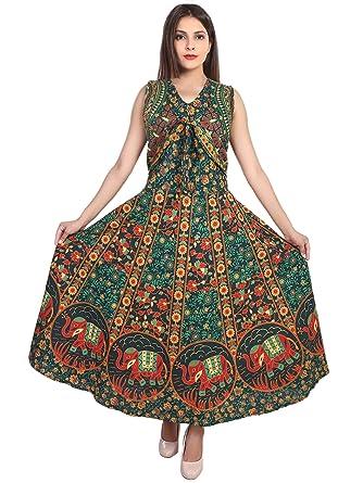 e8938b05418 Jaipur Skirt Women s Jaipuri Cotton Printed Jacket Kurti (JSKURTIS ...