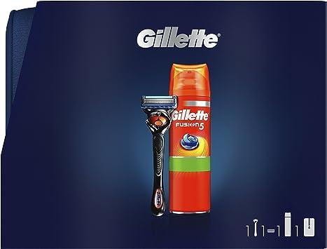 Gillette Fusion5 Proglide Razor + Fusion5 Ultra Sensitive Gel de ...