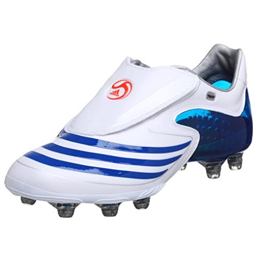 info for 4abcf b25cb Adidas Mens F50.8 Tunit Soccer Shoe,WhiteBlueRed,6