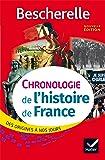 Bescherelle Chronologie de l'histoire de France: des origines à nos jours