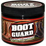 Boot Guard Leather Dressing: Restores and Conditions Leather Boots, Shoes, Automotive Interiors, Jackets, Saddles, and Purses