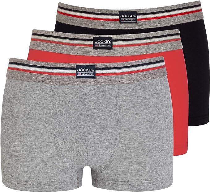 Urban Dust Jockey USA Originals Cotton Stretch Short Trunks 3-Pack