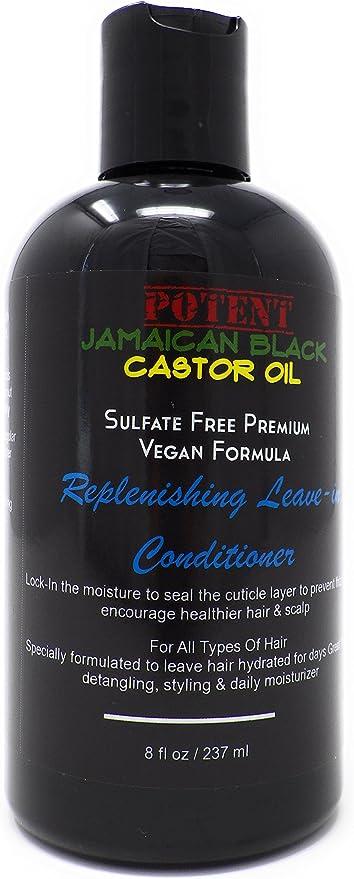 Potente acondicionador de aceite de ricino jamaiquino en sulfato ...