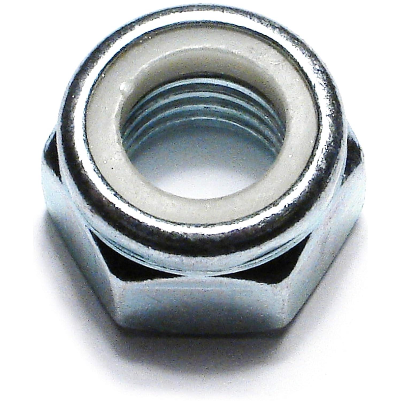 Hard-to-Find Fastener 014973278434 Nylon Insert Lock Nuts, 3mm-0.50, Piece-100