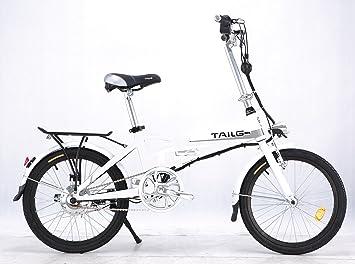 Bicicleta eléctrica plegable construido en la batería del acelerador Twist & Go tecnología – 1 año