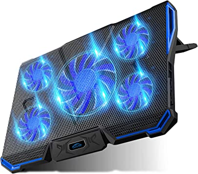 Laptop Cooling Pad Portable Dual Fan Laptop Chill Mat Computer Accessories Kit