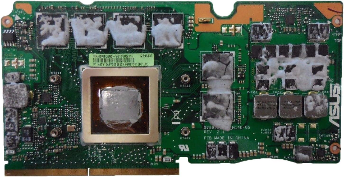 3G Laptop VGA Graphic Card N14E-GS-A1 for Asus ROG G750J G750JX Laptop Compatible GTX 770M 3GB VGA Graphic Video Card N14E-GS-A1 60NB00M0-VG1160 60NB00N0-VG1050