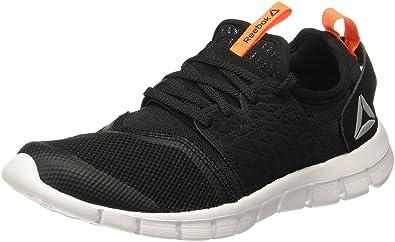 1a8c05764749 ... Reebok Men s Hurtle Runner Black Wild Orange Running Shoes-10 UK India  ...