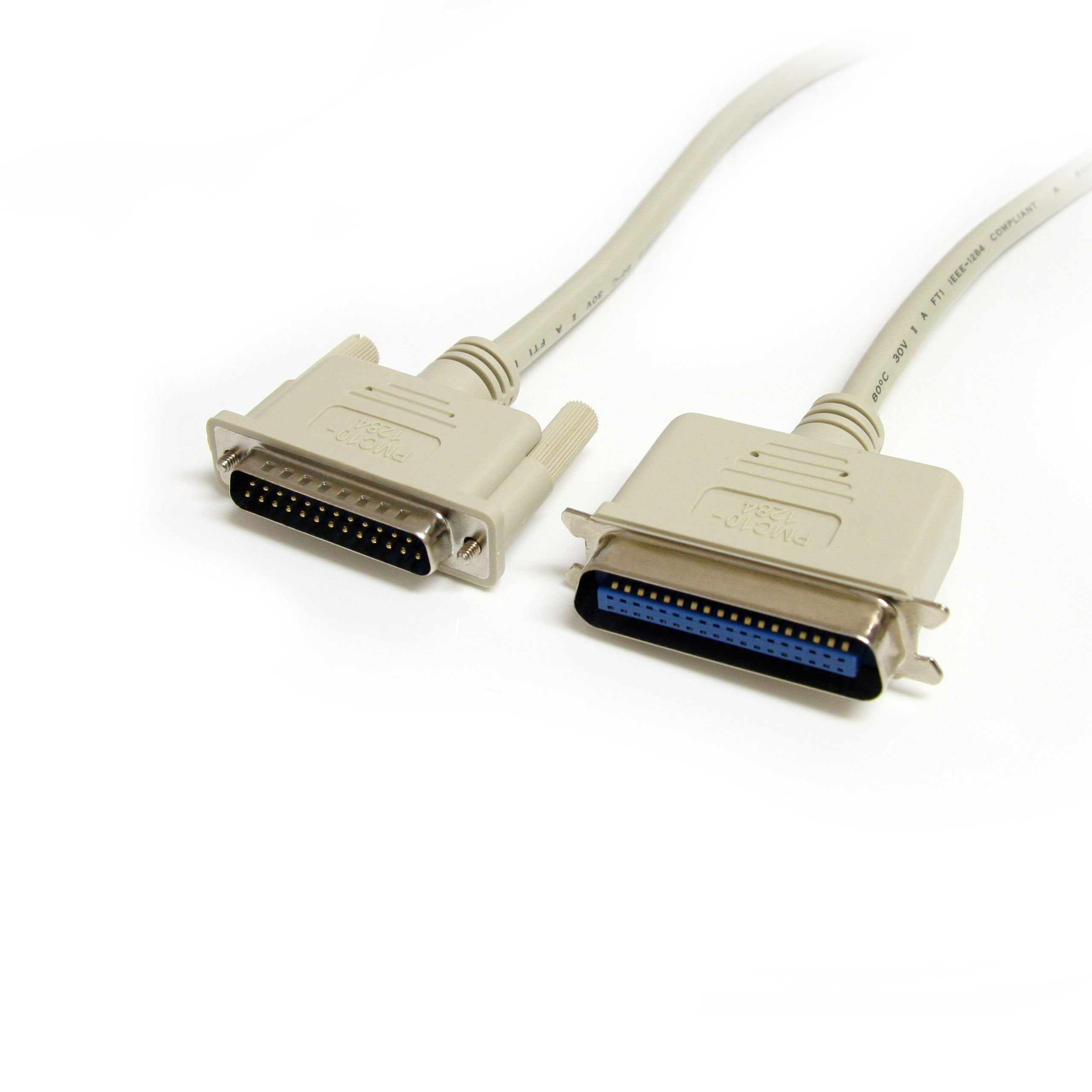 StarTech.com 10-Feet DB25 to Centronics 36 IEEE-1284 Parallel Printer Cable - M/M(PMC10_1284)