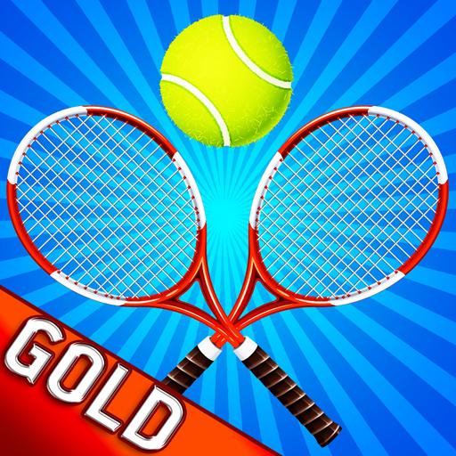 (Tennis Ball Madness Long Shot Court Yard - Gold Edition)