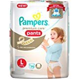Pampers Premium Care Large Size Diapers Pants (20 Count)